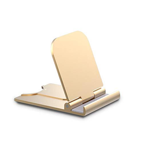 SXPSYWY Soporte para teléfono móvil Soporte de Mesa Plegable Universal para teléfono Celular Soporte de Escritorio de plástico Soporte para Tableta para teléfono móvil para iPhone Samsung TSLM3