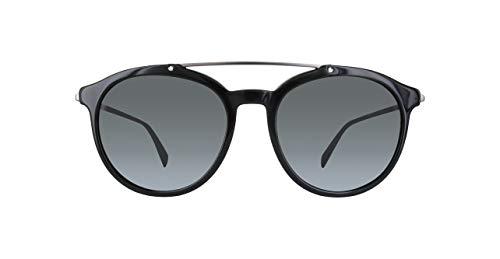 Diesel Sonnenbrille DL0193-02A-56 Gafas de sol, Negro (Schwarz), 57 para Hombre