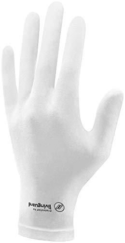 Livinguard STREET GLOVE | Handschuhe mit Touchscreen-Funktion| Women (White,Size S)