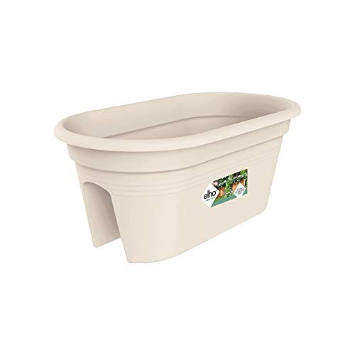 Learn More About Exaco Trading Co. BPC-Beige Exaco Bridge Planter with Cover, White