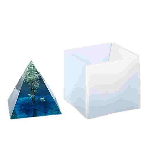 DIY Super Pyramid Silikonform Harz Handwerk Schmuckherstellung Form Kunststoffrahmen