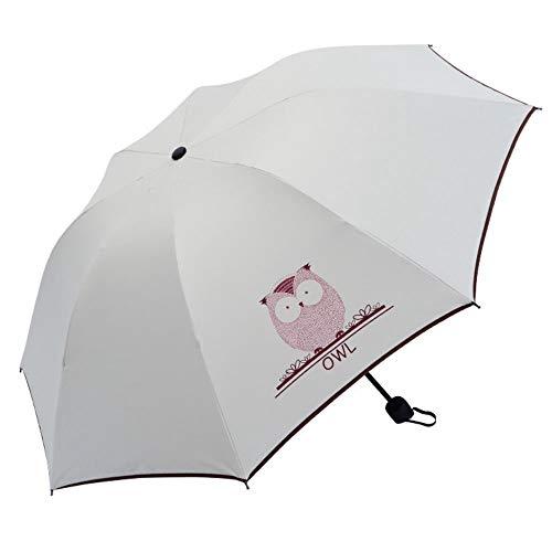 Sunshade Umbrella Anti-UV Umbrella Protective Black Rubber Cloth 8 Bones Furl Courtyard