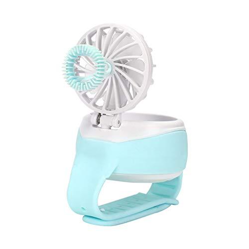 Mini Bubble Watch Fan USB Charging Mute Three Gears Adjustable Fan 50ML