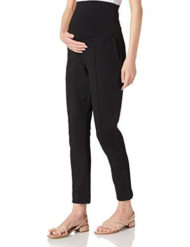 Esprit Maternity Pants Knitted OTB 7/8 Pantaloni, Nero-001, XL Donna