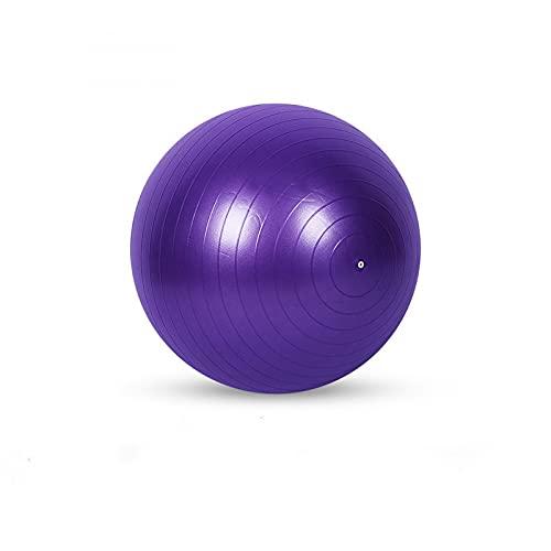 Bola de yoga engrosada a prueba de explosiones, bola de yoga 55Cm65Cm75Cm Yoga Studio Fitness Ejercicio, bola de Pilates mate