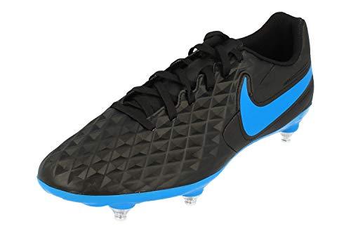 Nike Legend 8 Club SG, Botas de fútbol Unisex Adulto, Multicolor (Black/Blue Hero 4), 40.5 EU