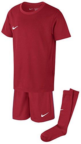Nike Kinder Park Kit Trikotset, Rot (University Red/White), L (116-122)