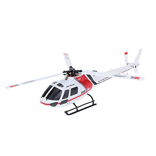 ACHICOO XK K123 6CH Brushless AS350 Scale 3D6G System RC Helicopter RTF Upgrade WL-Toys V931 No Remote Control Version Kids Gifts