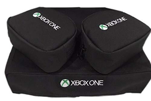 Capa console + 2 cases controle XBOX One Slim - Kit 3 Peças
