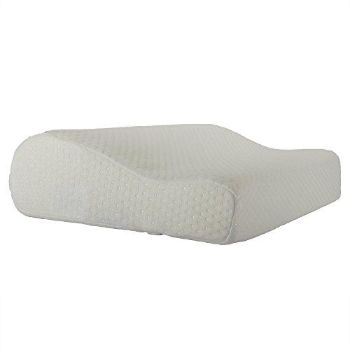 Salosan HWS-Nackenstützkissen für optimale Kopfunterstützung und sehr angenehmes Schlafgefühl. Extrem bequemes Kopfkissen, Kissen, Nackenkissen aus Visco - Gelschaum