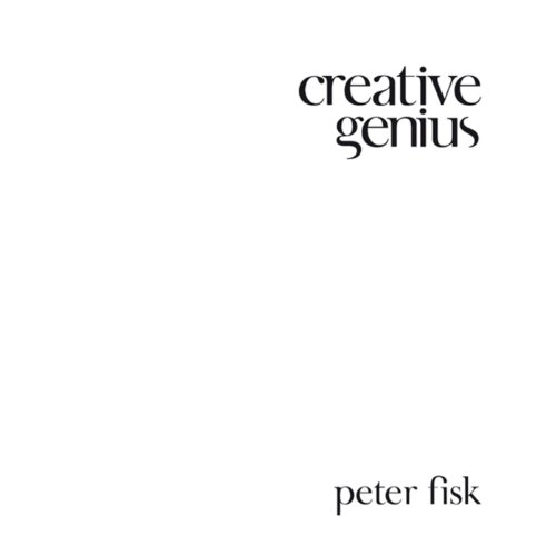 Creative Genius audiobook cover art