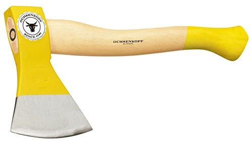 Ochsenkopf Forstbeil, Polierte Schneide, Robustes Eschenholz, 38 cm, 1,1 kg