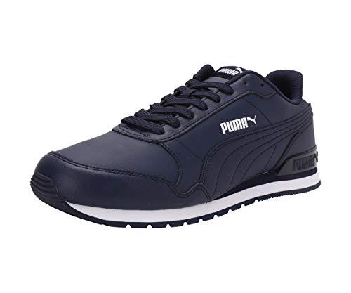 PUMA Unisex ST Runner v2 Full L Sneaker, Peacoat White, 38 EU