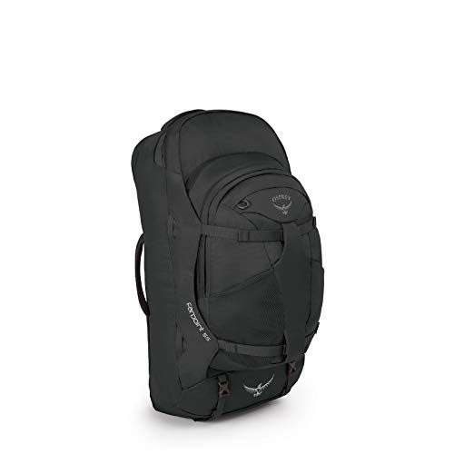 Osprey Farpoint 55 Men's Travel Pack with 13L Detachable Daypack - Volcanic Grey (S/M)