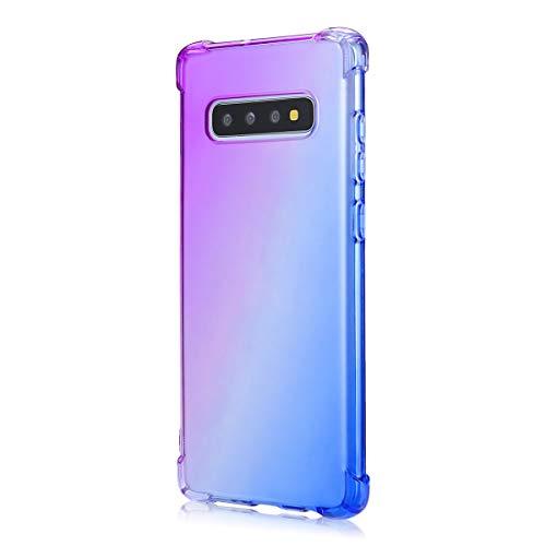 Suhctup Coque Compatible pour Samsung Galaxy Note 9,Ultra-Mince Souple Fin TPU Gel Silicone Crystal Dégradé de Couleur Anti Choc [Coin de logement ave
