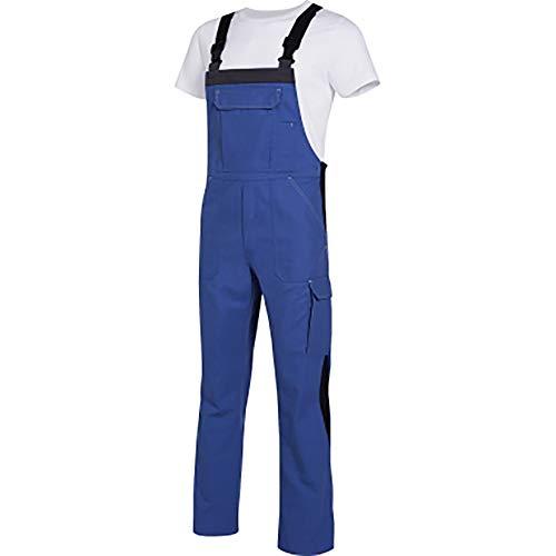 Uvex Perfect 8925 Herren-Arbeitshose - Blaue Männer-Latzhose 106/110