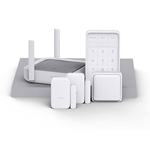 Wyze Home Security System Core Kit with Hub,...