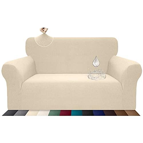 Luxurlife Funda de sofá Impermeable 2 Plazas Funda para Sof