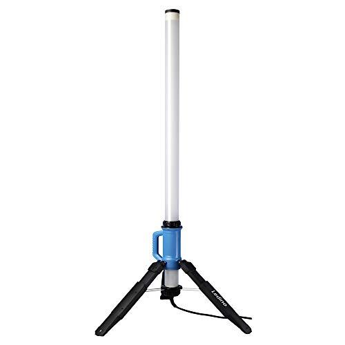 Ledino LED-Strahlersäule 130W Rath, 10.000 lm, 360° Baustrahler Arbeitsstrahler LED-Tower IP69K LED-Turm Fluter superhell wasserdicht staubdicht