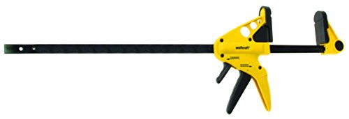 wolfcraft 3450403TV Quick-Jaw One-Hand Bar Clamp and Spreader, 24in.