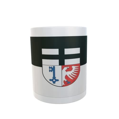 U24 Tasse Kaffeebecher Mug Cup Flagge Rheinbach