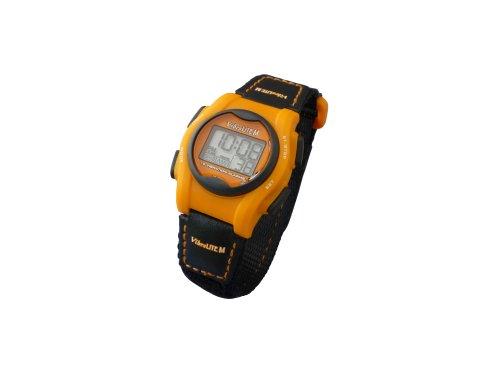 Pivotell Vibralite Mini-Uhr mit Erinnerungsfunktion, Vibrationsalarm, Orange