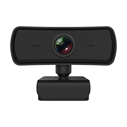 CHENPENG 2K HD 1080P Pro Stream Webcam, USB Computer Webcam, para transmisión y grabación de Video HD Transmisión en Vivo, grabación, Juegos