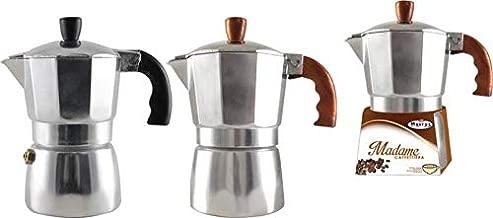 Home Alluminio Mokita Tazze 1 Moka Caffettiere Fino a 2 Argento