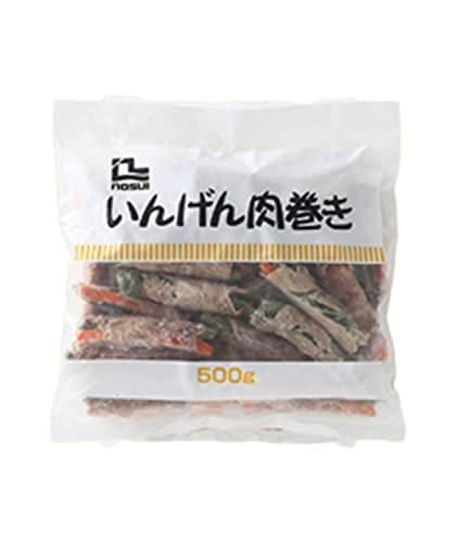 【冷凍】 ノースイ いんげん肉巻き 500g 業務用 豚肉 おかず おつまみ