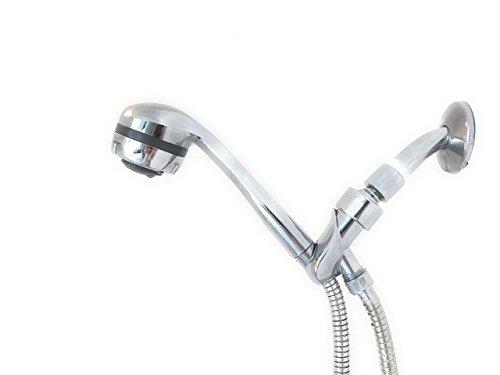Best Handheld Shower Head for Low Water Pressure (78' Stainless Hose Massaging Spray Head)