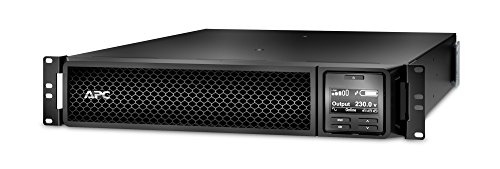 APC Smart-UPS SRT - SRT3000RMXLI-NC - Unterbrechungsfreie Stromversorgung (USV) 3000VA - RM, Netzwerkkarte, (8) IEC C13, (2) IEC C19, Multifunktionelle LCD-Status- und Steuerkonsole