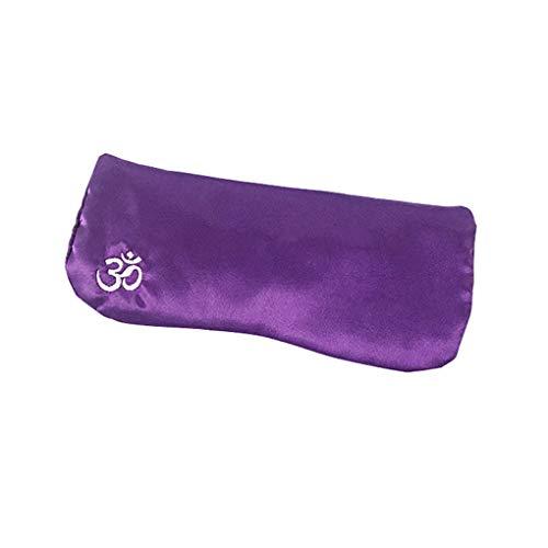 Regard L De Seda-como la semilla de la Almohadilla de Ojos Lavanda Cassia Relajante Eye Patch extraíble Bolsa Accesorios del Yoga