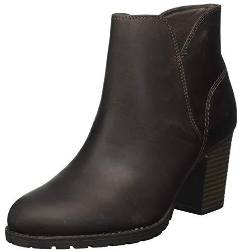 Clarks Damen Verona Trish Stiefelette Klassisch, Taupe Leather, 37 EU