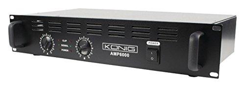 König PA-versterker (2 x 300 watt)