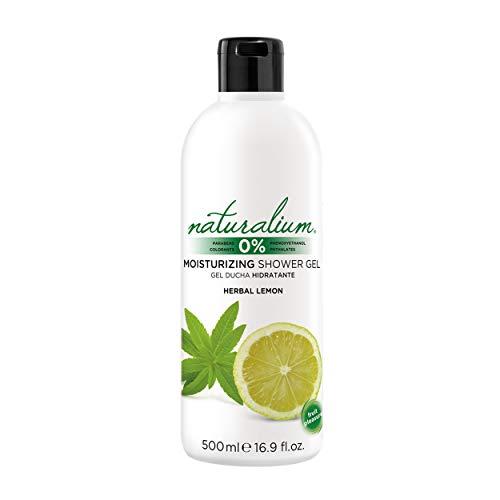 Naturalium Gel Ducha Limón - Gel de Baño Hidratante, Sin Parabenos, Sin Colorantes, 500 ml