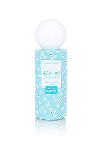 PARFUMS SAPHIR Fruit Attraction Azahar Eau de Toilette para Mujeres, 100 ml