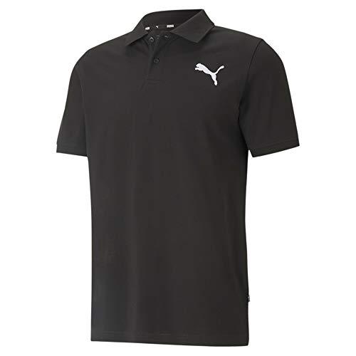 PUMA Herren Poloshirt, Puma Black-Cat, L