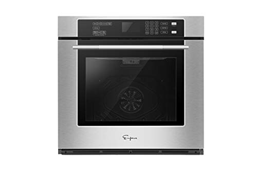 Empava 24 9 Cooking Functions Electric LED Digital Display Touch Control Built-in Convection Single Wall Oven EMPV-B21LTL