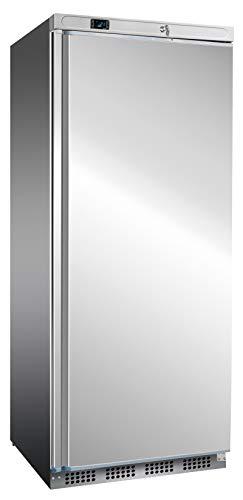 Frigorífico de acero inoxidable de 520 litros para hostelería, frigorífico industrial, frigorífico de acero inoxidable, nevera estándar, 777 x 715 x 1720 mm