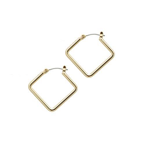 Uncommon James Girl Boss Small Earrings   Gold