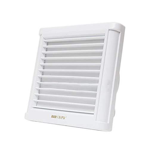 Sunxk AirFresh Ejector voor badkamer, keuken, plafond, wandhouder, ventilator, ventilator, ventilator