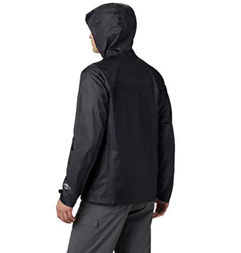 Columbia Men's Watertight II Rain Jacket Blouson de pluie, Noir, L Homme
