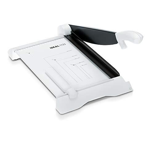 IDEAL Schneidemaschine - Schnittleistung 15 Blatt - Schnittlänge 430 mm, ohne Untergestell - Hebelschneider Langschneider Papierschneidemaschine Papierschneidemaschinen Präzisions-Schneidemaschine Schneidemaschine Stapelschneider