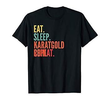 Karatgold Coin Crypto Eat Sleep Karatgold Coin Repeat T-Shirt