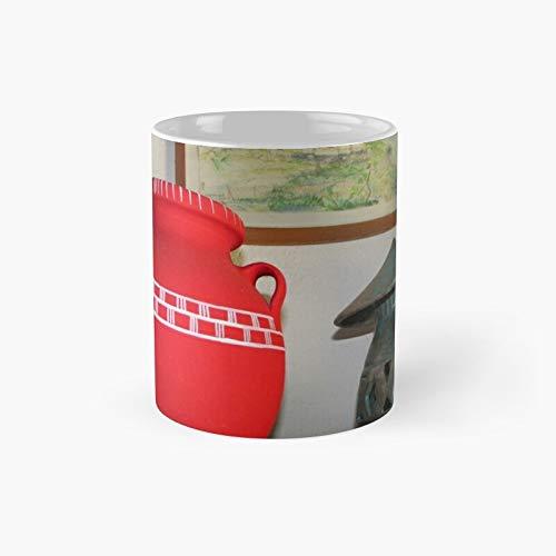 Taza clásica de cerámica griega | Mejor regalo divertido tazas de café 11 oz
