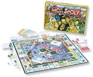Hasbro Monopoly de los Simpsons (versión UK): Amazon.es: Juguetes y juegos