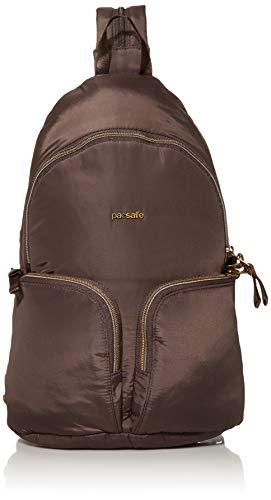 Pacsafe Women's Stylesafe 6L Anti Theft Convertible Sling To Backpack, Mocha