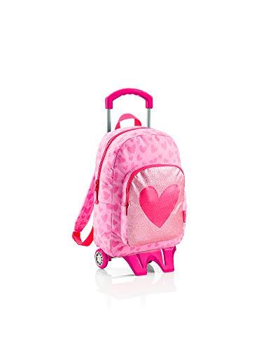 Agatha Ruiz de la Prada Miquelrius Agatha Ruiz De La Prada Lurex Kinder-Rucksack 84 Centimeters 20 Pink (Rosa)
