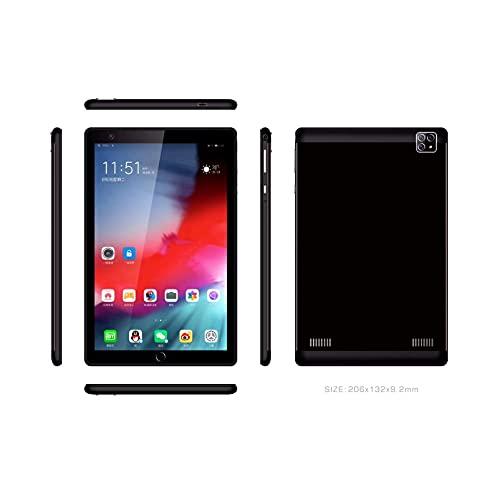 Fringe Trim Tablet Pc, Cámara Dual Android, Sensor De Gravedad Inteligente, Procesador De Ocho Núcleos, Soporte De Bluetooth, Tarjeta Dual Dual Standby, Pantalla IPS(Color:Black-1+16g)