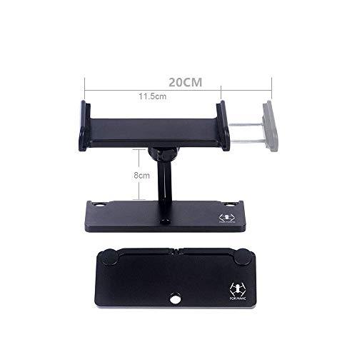 GzxLaY 1Set de Extensión de Soporte de Control Remoto Teléfono Tableta Titular de Aluminio para Mavic 2/Mavic Mini/Mavic Pro/Spark Drone Quadcopters Piezas Accesorios